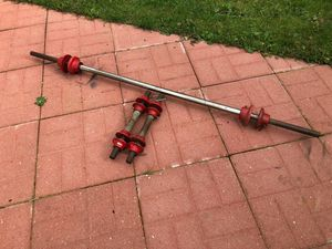 York Barbells - Gym Equipment - Dumbbell Handles - Work Out Equipment for Sale in Bolingbrook, IL