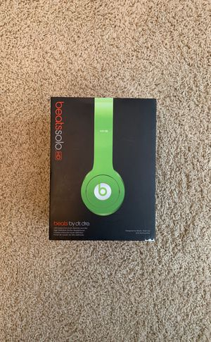 Beats Solos by Dr . Dre for Sale in Ridgefield, WA