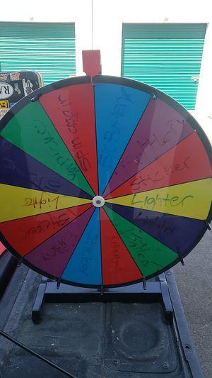 Carnival party prize wheel for Sale in Orange, CA