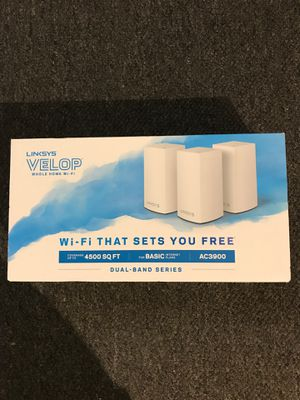 Linksys Velop 3 Pack Dual-Band Series for Sale in Cypress, CA