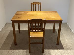 Dining table with two chairs for Sale in Northville, MI