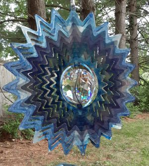 Metal wind spinner for Sale in Weyers Cave, VA