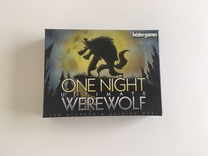 One Night Ultimate Werewolf Party Game for Sale in Westminster, CA