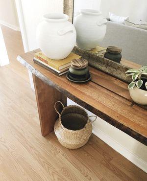World Market Wood Sansur Console Table for Sale in Sacramento, CA