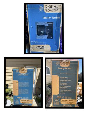 Digital Pro-Audio Speaks system for Sale in Richmond, CA