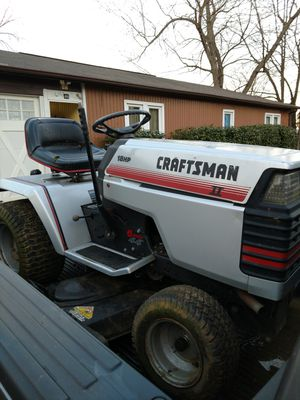 Craftsman 2 with electric pto for Sale in Gaithersburg, MD