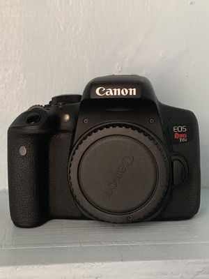 Canon T6i | 50 mm | 24 mm | 18-55 mm lenses for Sale in Brooklyn, NY