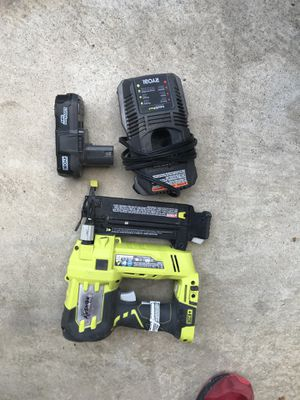 18 gauge nail gun for Sale in Houston, TX