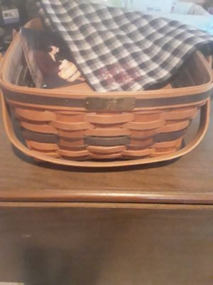 Longaberger JW Collection 1992 Edition Cake Basket for Sale in East Moline, IL