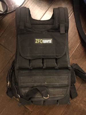 Weight vest with weights up to 40 lbs. for Sale in Los Angeles, CA