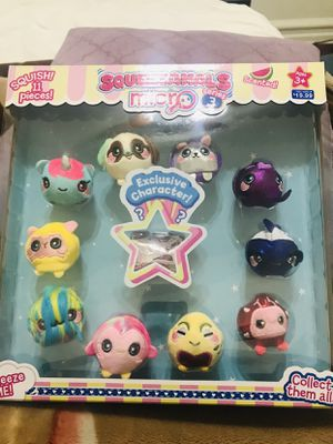 Sqeezamals plushies for Sale in Queens, NY