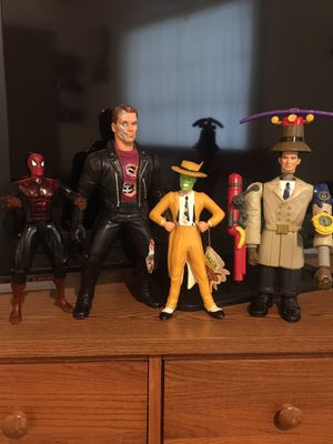 4 Collectible Action Figures for Sale in Tampa, FL
