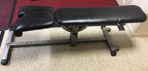 Weight Lifting Bench Adjustable with Attachments for Sale in Sykesville, MD