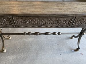 Console table purchased 2years ago $1200, Asking $600 for Sale in Henderson, NV