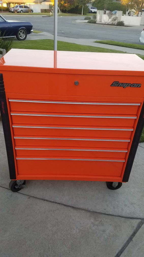 Snap on cart
