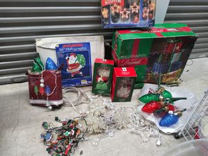 Huge lot xmas lighted decoratuons for Sale in Oak Lawn, IL