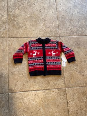 """NEW WITH TAGS — Baby sweater nine 9 months Toys """"R"""" Us koala baby holiday Christmas fall black red white thick warm kids boys girls for Sale in Vista, CA"""