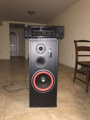 sony stereo and LS10 speaker for Sale in Silver Spring, MD