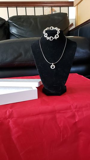 Genuine Tiffany and company necklace bracelet set for Sale in Parker, CO