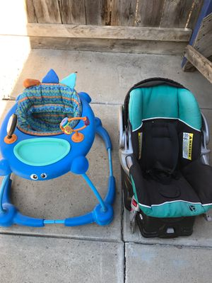 Walker and car seat free for Sale in Patterson, CA