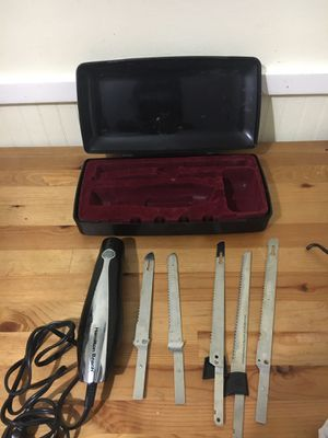 Electric knife set for Sale in Germantown, MD