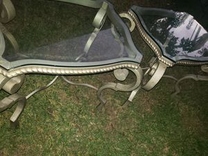 End tables in great condition very heavy. for Sale in Houston, TX