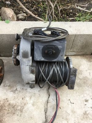 Warn winch for Sale in La Mirada, CA