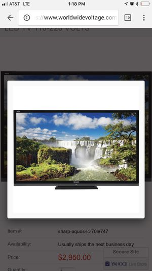 """42"""" Sharp TV for Sale in New York, NY"""