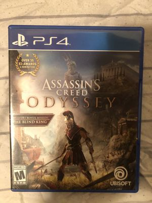 Assassins Creed Odyssey PS4 for Sale in Eau Claire, WI