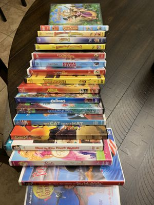 18 Disney, Dreamworks and more DVD's for Sale in Queen Creek, AZ