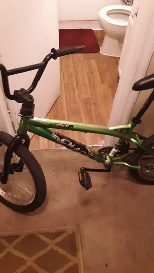 Green and black bmx bike for Sale in Tampa, FL