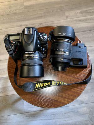 NIKON D750 camera. (24.3 MEGAPIXELS) 4 months of usage. Just 1.317 shots. for Sale in Miami, FL