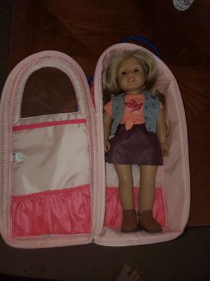 American girl doll and carrier for Sale in Litchfield Park, AZ