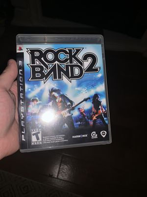 Rock Band 2 for PS3 with drums and guitar. for Sale in East Wenatchee, WA