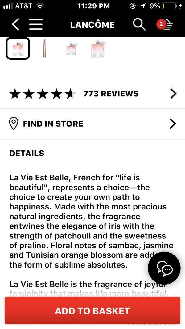 Lancôme fragrance- NEW! BEST GIFT