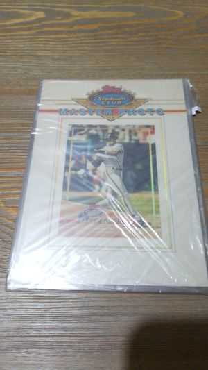 Baseball card- barry bonds master photo for Sale in West Stayton, OR
