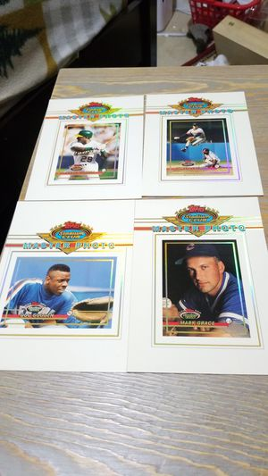 Baseball cards- topps stadium club master photo for Sale in West Stayton, OR