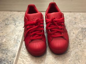 """Addidas all Red """"superstars"""" for Sale in Haines City, FL"""
