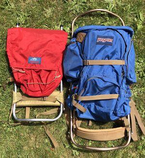 Two vintage Jansport hiking backpacks for Sale in Portland, OR