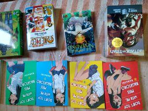 8 books and dvd season 9-12 attack on titan for Sale in Riverside, CA