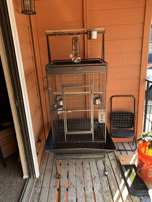 Extra large bird cage with wheels for Sale in Euless, TX