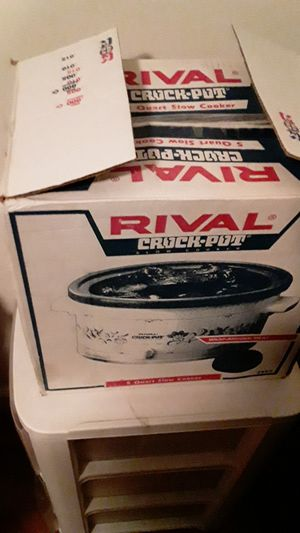 Rival crock pot brand new open box for Sale in Washington, DC
