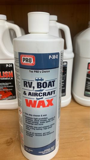Rv and boat wax on sale for Sale in Modesto, CA
