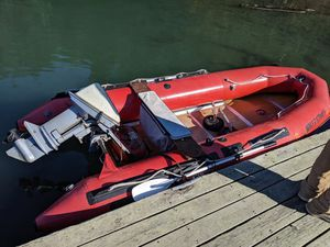 Achilles 12' boat /15hp evinrude for Sale in Snohomish, WA