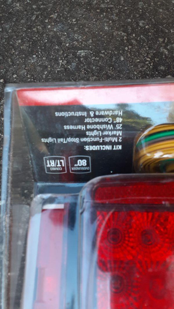 Light kit for pull behind trailer. New still in package.