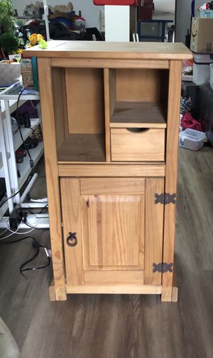 Wooden cabinet for Sale in Gaithersburg, MD