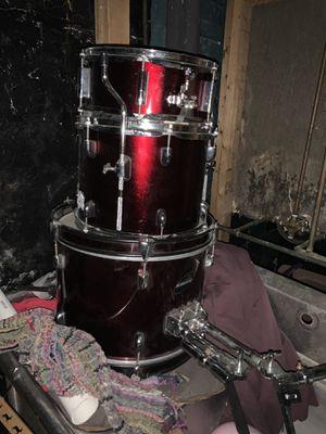 Jr drum set 3 pcs no hardware for Sale in Chicago, IL
