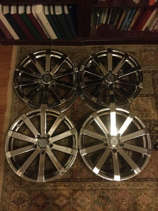 "18"" Velocity Chrome Rims/Wheels"