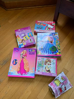 girls puzzles and matching games for Sale in Stickney, IL