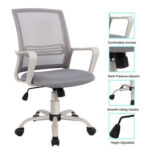 Grey Ergonomic mesh back student work office school zoom online class classroom desk chair for Sale in Ontario, CA